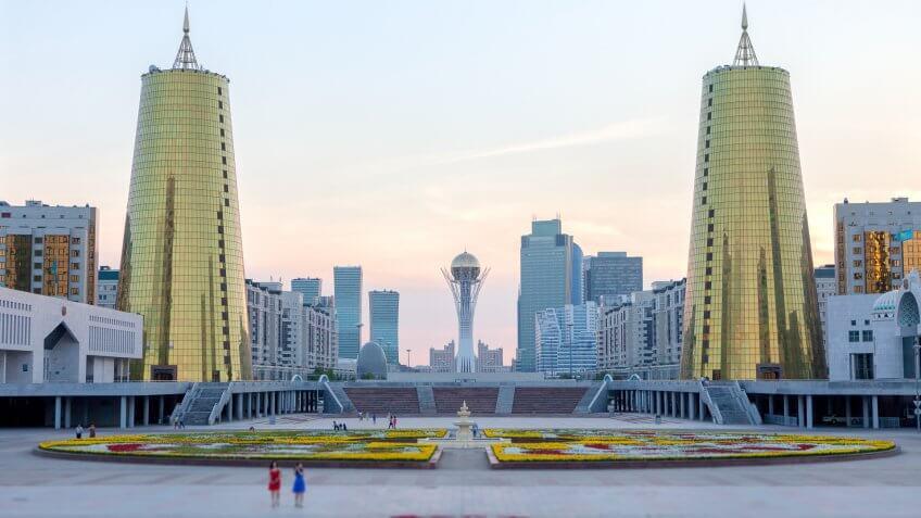 Astana City.