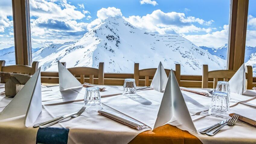 Alpine restaurant, How Much to Tip When Traveling to These 25 Countries