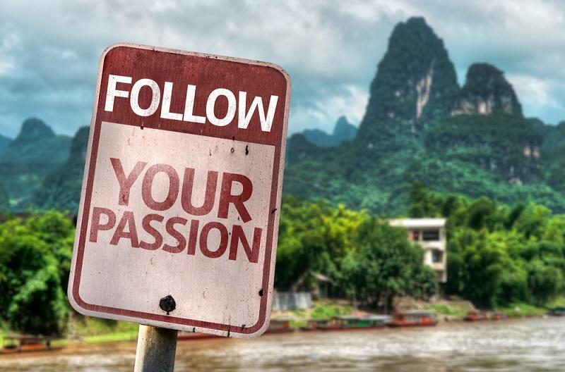 following your passion