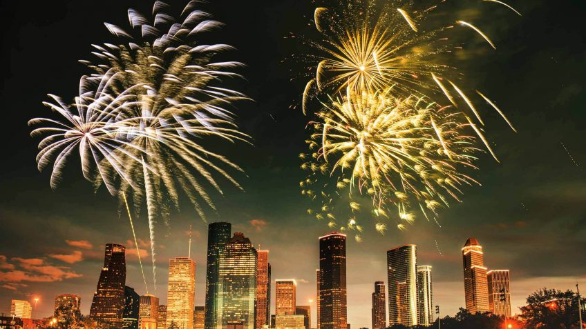 houston 4th of july fireworks