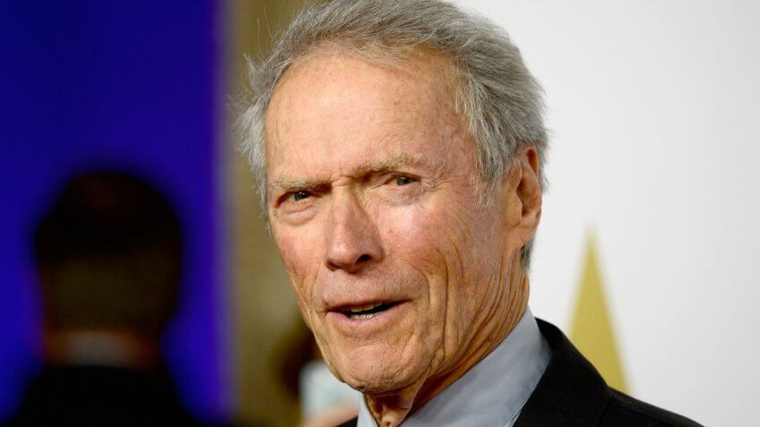 BEVERLY HILLS, CA - FEBRUARY 02: Director Clint Eastwood attends the 87th Annual Academy Awards Nominee Luncheon at The Beverly Hilton Hotel on February 2, 2015 in Beverly Hills, California.