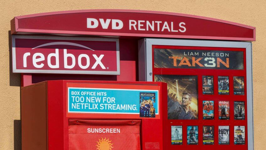 Use Redbox Instead of Going to the Movies
