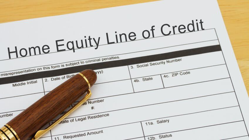 home equity line of credit paper