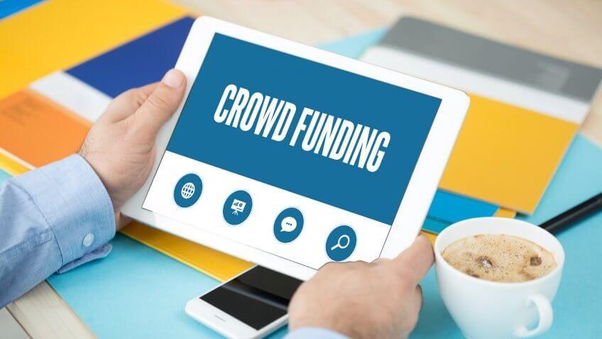 ipad with crowd funding