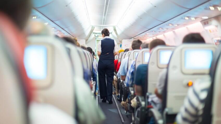 full airplane