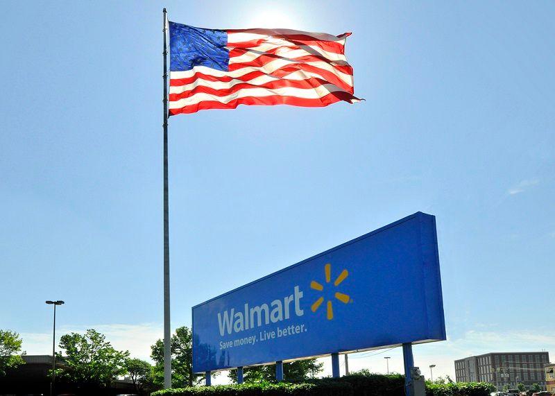 Walmart Confederate Flag