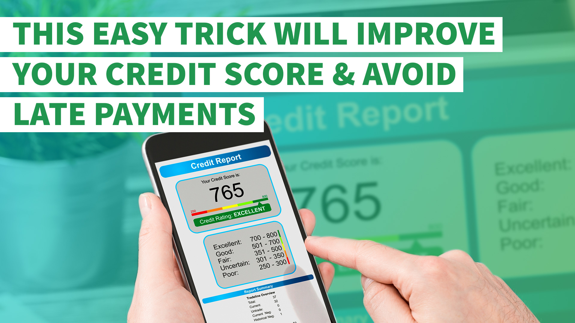 This Easy Trick Will Improve Your Credit Score And Avoid