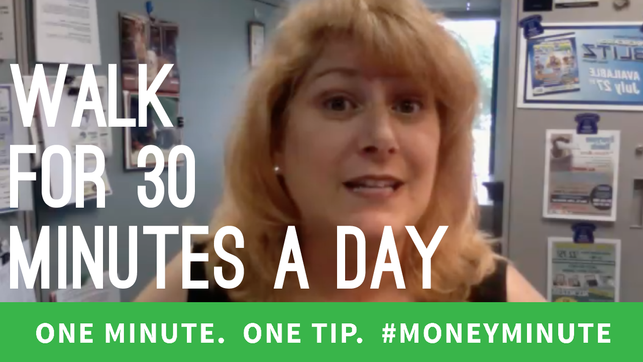 How Walking 30 Minutes a Day Can Save You Money