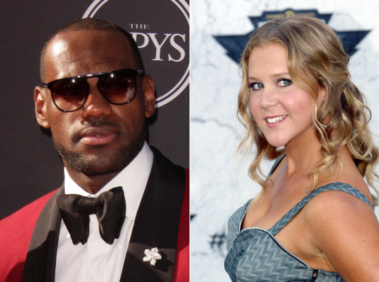 "Lebron James Plays Himself Alongside Amy Schumer in ""Trainwreck"" Movie: How Much Were They Paid?"