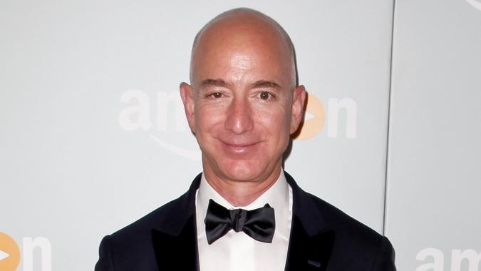 WEST HOLLYWOOD, CA - SEPTEMBER 18:  Jeff Bezos attends Amazon's Emmy Celebration at Sunset Tower Hotel on September 18, 2016 in West Hollywood, California.