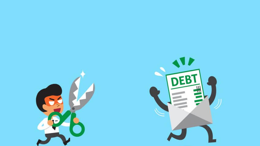 Follow These 4 Steps to Get Out of Debt