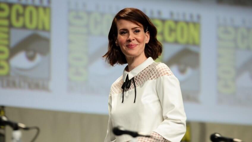 Sarah Paulson at Comic Con
