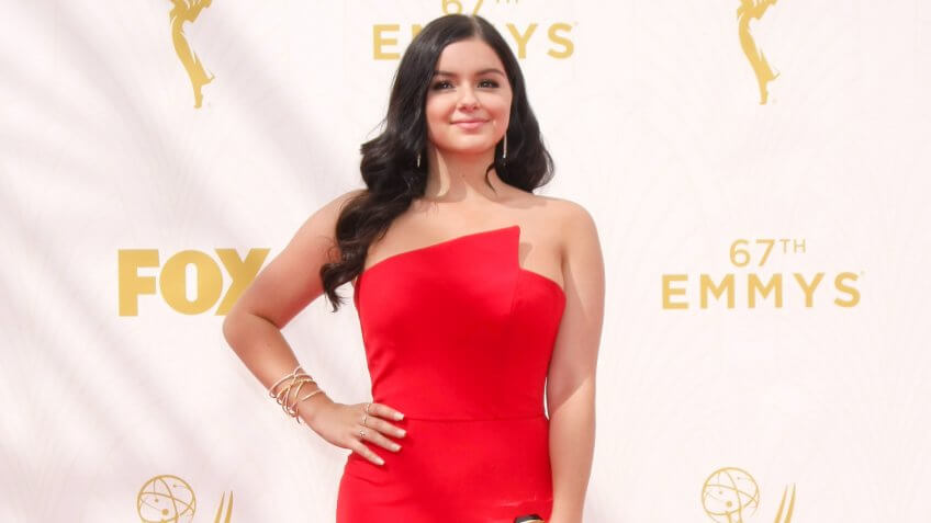 Ariel Winter's at the Emmys red carpet