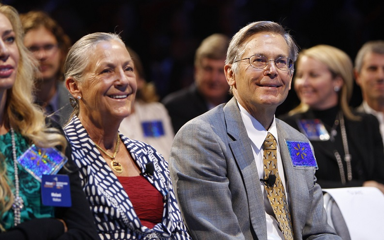 Alice Walton and Jim Walton