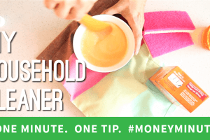 How to Save Money by Making Your Own Household Cleaners