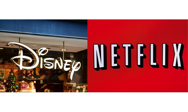 Why Netflix Stock Hits Record Highs as Walt Disney Stock Plummets