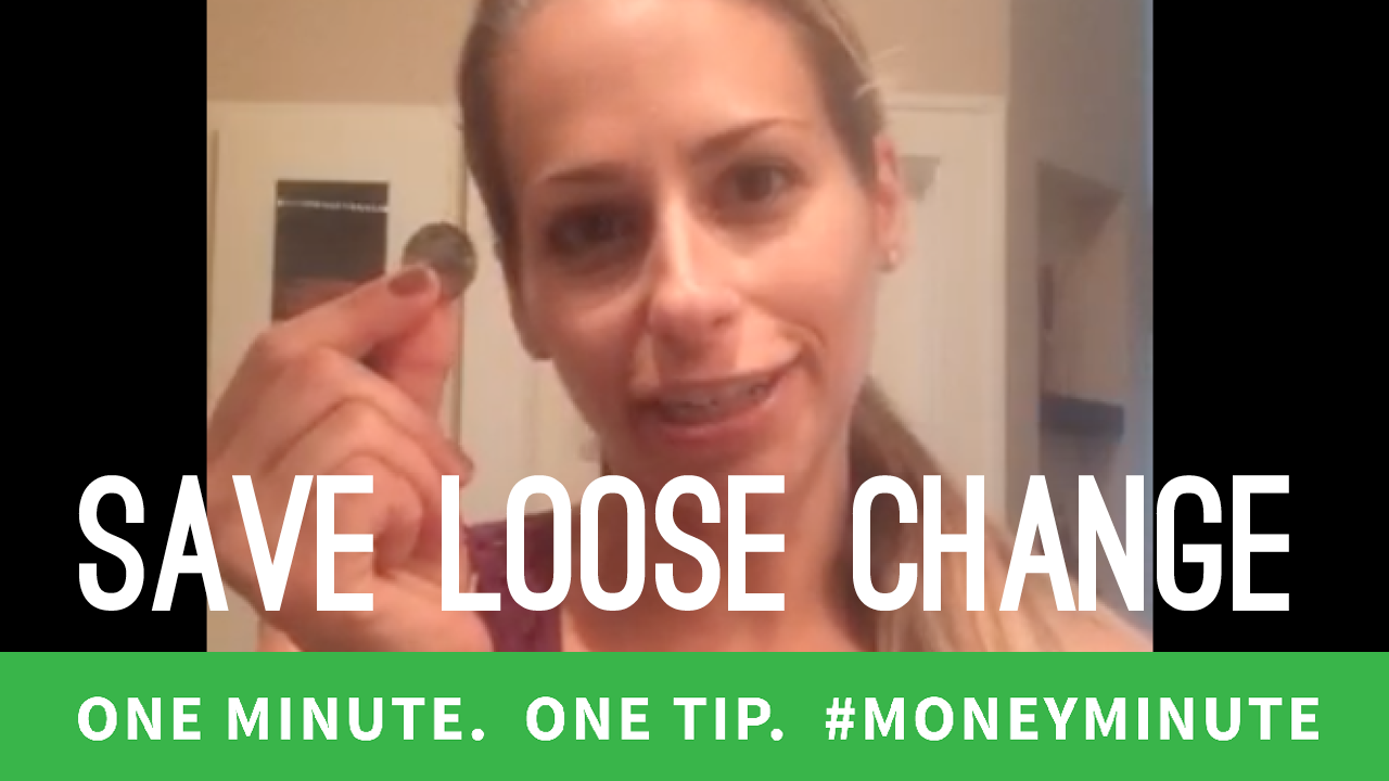 How to Make Loose Change Part of Your Savings Plan