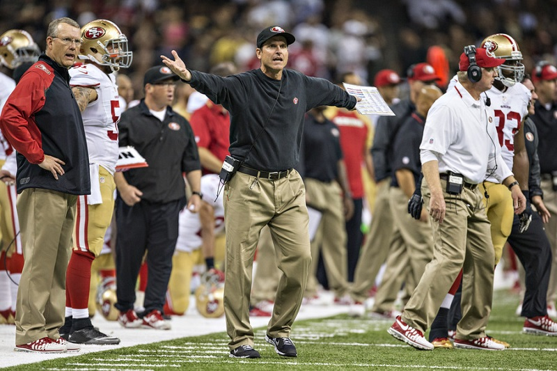 College Football Coach Salaries: Jim Harbaugh Net Worth Vs. Urban Meyer Net Worth and More