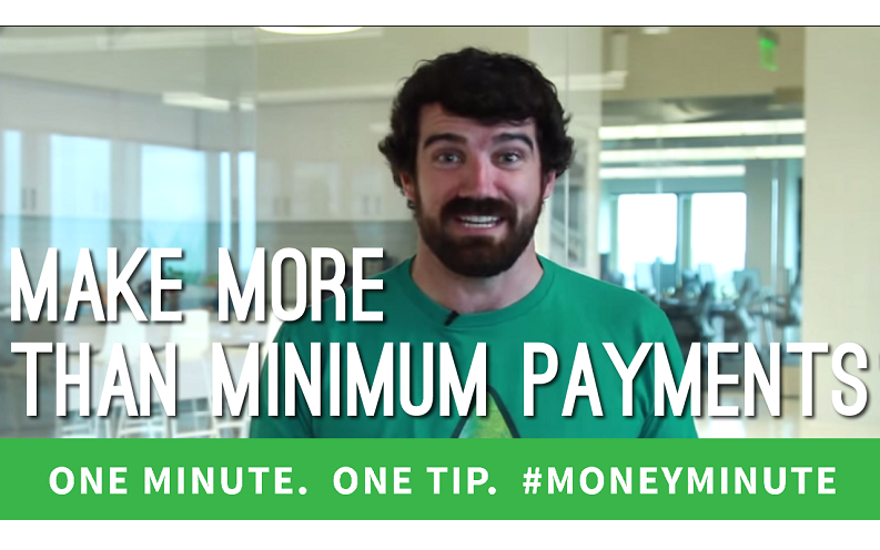 make more than the minimum payments