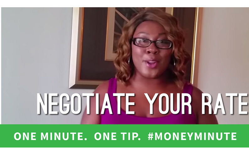 negotiate your rate