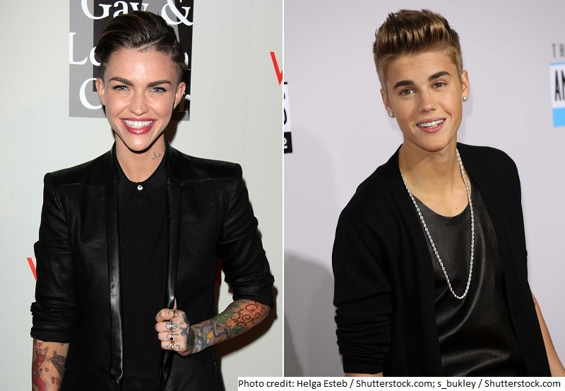 Ruby Rose Admits Justin Bieber Resemblance on 'Conan': How Their Net Worths Compare