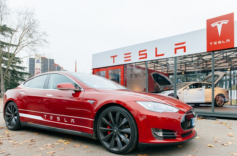 Tesla Motors Estee Lauder Urban Outfitters Stock Is It