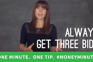 Money Saving Rule: Always Get Three Bids, Never Take the High One