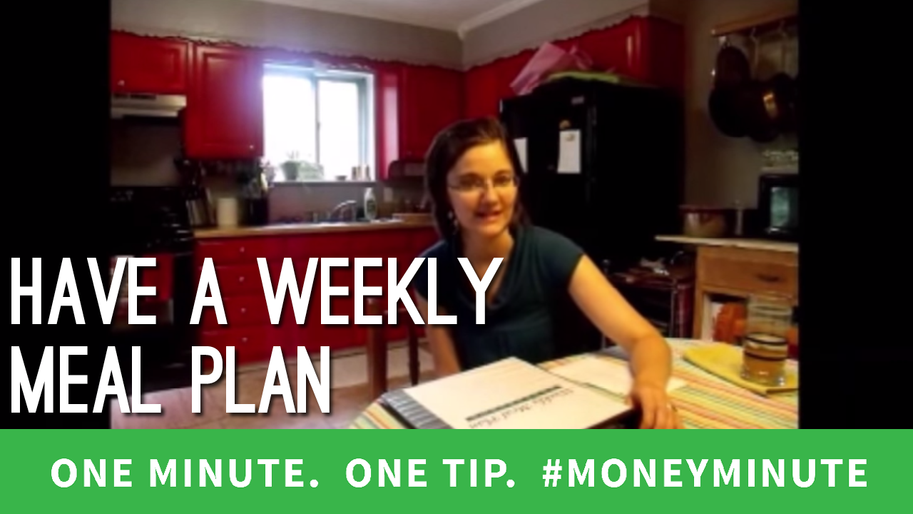 How to Simplify Menu Planning and Your Grocery Budget