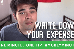The Secret to Saving: Writing It All Down