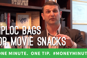 Use Ziploc Bags to Save Money at the Movie Theatres