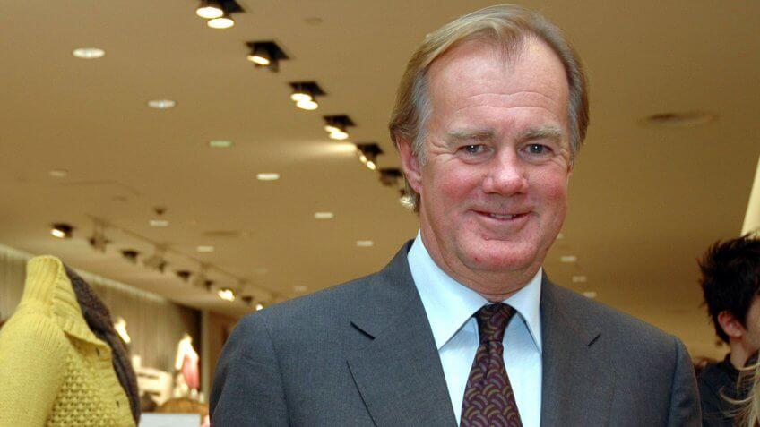 Mandatory Credit: Photo by Catarina Lundgren/REX/Shutterstock (511163a)Stefan Persson, Chairman and owner of H and M, New York - Aug 2004VARIOUS.