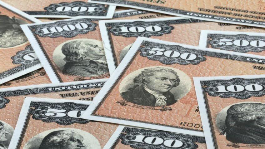 Patriot EE-series savings bonds.
