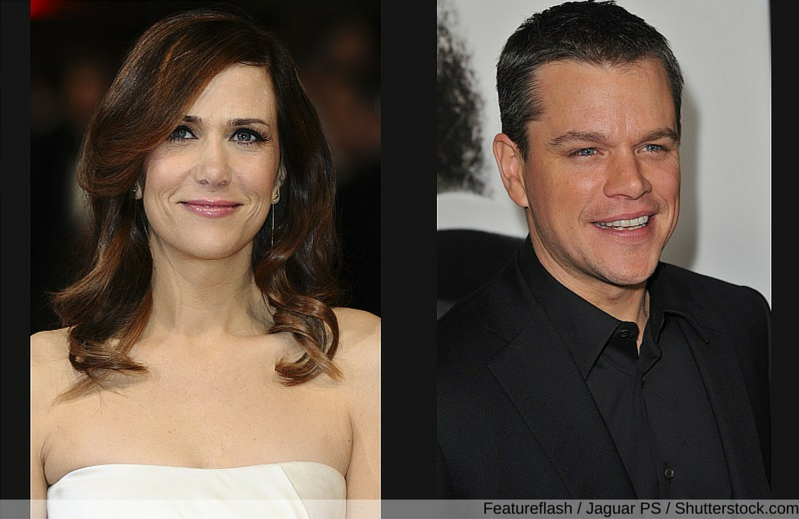 Matt Damon net worth, Kristen Wiig net worth