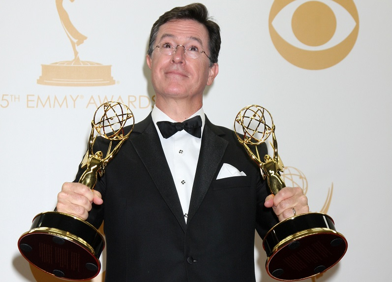 "How New ""The Late Show"" Host Stephen Colbert's Net Worth Compares to David Letterman's Net Worth"