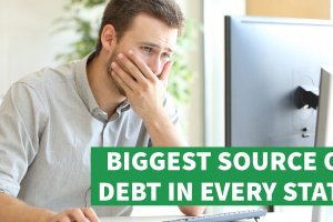 The Biggest Source of Debt for Americans in Every State