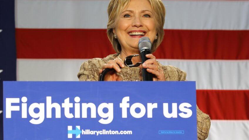 Hillary Clinton campaign speech