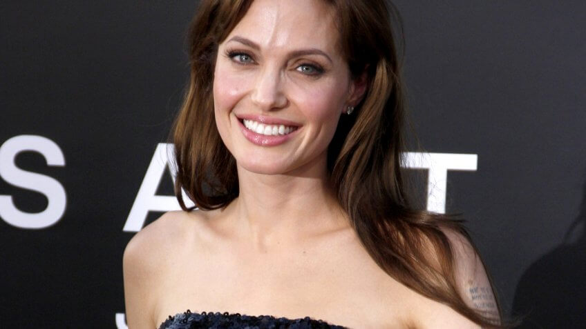 Angelina Jolie Salt premiere