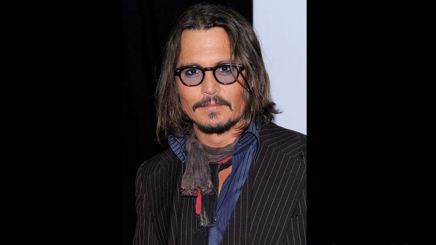Johnny depp handlebar mustache