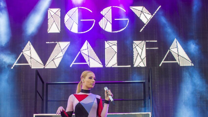 Iggy Azalea in concert