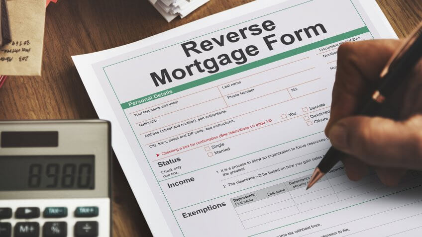 reverse mortgage form paperwork calculator
