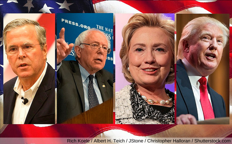 Presidential Candidates net worth