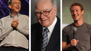 See Where the Top 10 American Billionaires Were Born