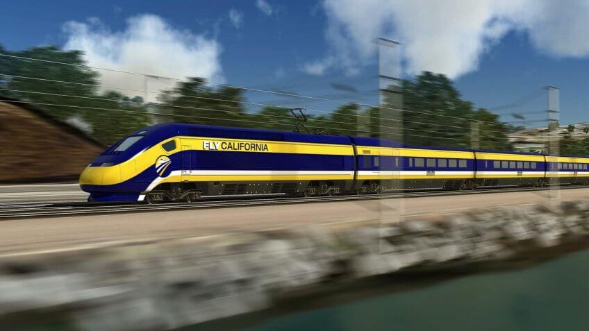FLY California train