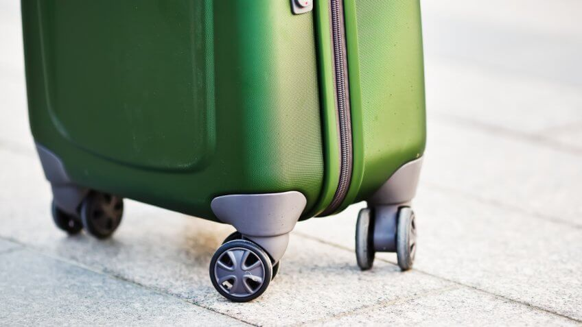 Luggage wheels