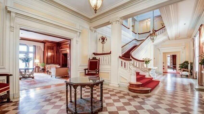 The Thayer Estate home in Massachusetts
