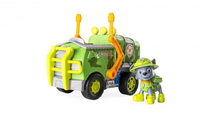 Paw Patrol Jungle Rescue Rocky's Jungle Truck