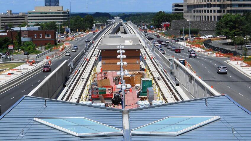 Washington, D.C.'s Dulles Corridor Metrorail Project
