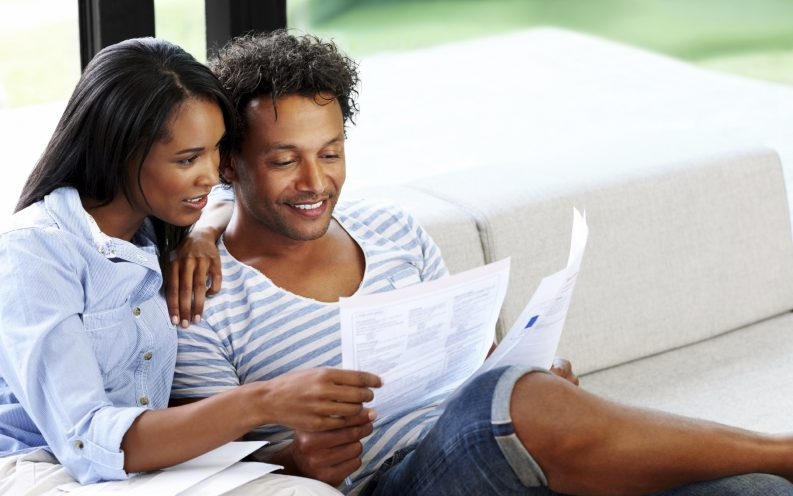 couple spending