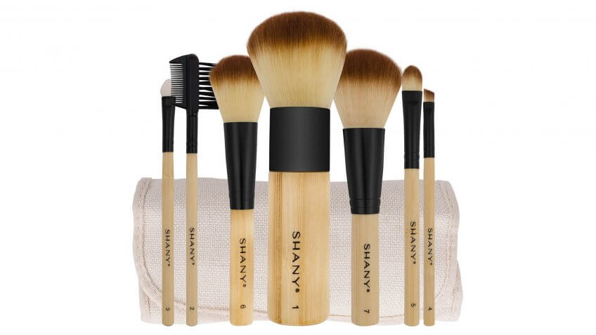 Shany Bamboo Makeup Brushes