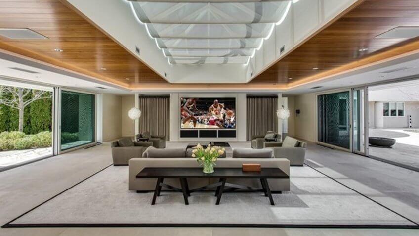 Michael Jordan's home in Illinois